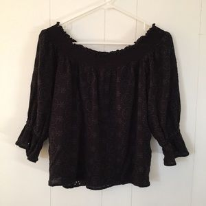 BRAND NEW H&M Off-the-Shoulder Cut-Out Top